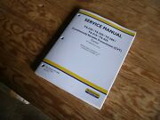 New Holland T8.435 Cvt Tractor Brakes Hydraulic Service Repair Manual Zere04800-