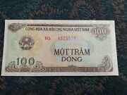 33 Ct. 1991 Vietnam Banknotes Money Collect 100 Dong Real Currency Unc