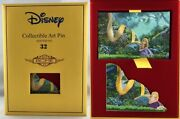Disney Acme Rapunzel Tangled Should I Stay Collectible Fine Art Pin Le 10/100