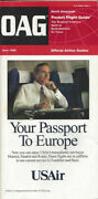 Oag Official Airline Guide North American Pocket Timetable 6/96 [0042]