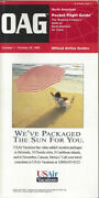 Oag Official Airline Guide North American Pocket Timetable 10/1/95 [0042]