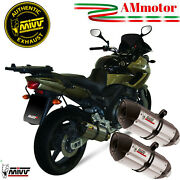 Exhaust Yamaha Tdm 900 2006 2007 Mivv Suono For Motorcycle Silencers Y014l7