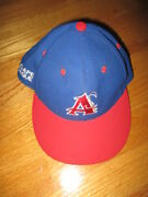 9 Team Members Of The Cape League Signed Chatham Angelers Size 7 Baseball Cap