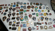 Lot Set Of Pin Badge Soviet Russian Russia Ussr Vintage 1970s  4563