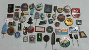 Lot Set Of Pin Badge Soviet Russian Russia Ussr Vintage 1970s  5102