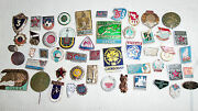 Lot Set Of Pin Badge Soviet Russian Russia Ussr Vintage 1970s  5109
