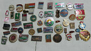 Lot Set Of Pin Badge Soviet Russian Russia Ussr Vintage 1970s  5101