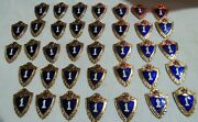 Lot Set Of Pin Badge Soviet Russian Russia Ussr Vintage 1970s  5075