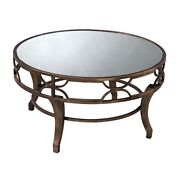 Elk Home Treviso Coffee Table Antique Gold Wash - 6043728