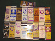 Huge Collection 800+ Elks Lodge Matchbook Covers - 1930's, 40's, 50's On