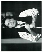 Martin Sheen The American President Autographed Black And White 8x10 Photo
