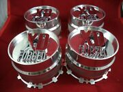 Xd Series Forged Chrome Custom Wheel Center Cap Xd-2-l-cap 4 Caps