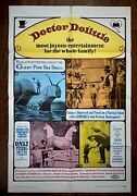 Doctor Dolittle 1969 The Classic Original Version With Rex Harrison 1-sheet