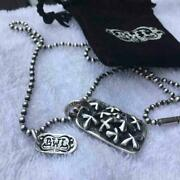 Bill Wall Necklace With Logo Plate