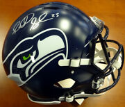 Richard Sherman Autographed Signed Seahawks Full Size Speed Auth Helmet Rs 88459