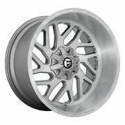 Five 5 20x12 Fuel Triton Platinum Et -43 5x127 5x5 Wheels Rims