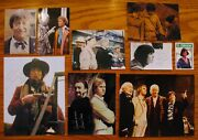 Doctor Whorare Vintage Cast Signed 9 Piece Sci-fi Display Collectionstunning