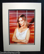 Cheryl Ladd-autographed Photograph In A Double Matted Display-charlies Angels