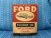 1960 Ford Pass Car Original Parts And Accessories Catalog T-bird Falcon Galaxie
