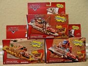Disney Cars Piston Cup Pit Stop Highway Hideout And Tractor Tippinand039 Launcher Nu