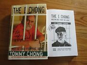 Tommy Chong Signed The I Chong 1st Ed Book Cheech And Chong Let's Make A Dope Deal