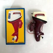 Gakken Honda 75 Twin Toy Outboard Motor Rare Made In Japan For Display Vintage