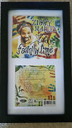 Ziggy Marley Family Time Signed Autograph Framed Display Bob