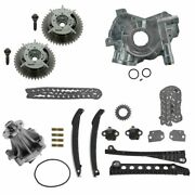 Timing Chain Sprocket Water Oil Pump Guide Kit Set For F150 F250 Expedition 5.4l