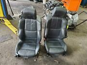 Bmw M3 Front Seat Bucket Air Bag Leather Electric Conv Sport