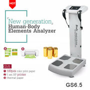 Body Composition Analyzer Machine With Hp Pinterandthermal Paperandcolor Print Paper