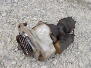 Farmall Super M Sm Tractor Ih Hydraulic Pump And Engine Distributor Drive Assembly