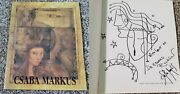 Csaba Markus Catalog Of His Works Signed Book W/large Sketch