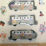 Tomy Tokyo Disney Resort Line Monorail 3 Car Set Limited Vehicle Collection New