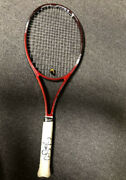 2012 Us Open Sloane Stephens Match Used Red Head Signed Tennis Racquet Usta