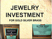 Investment Powder For Gold Silver Brass Jewelry Lost Wax Casting