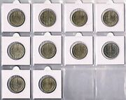 Soviet Union - Full Collection Of 1 Rouble Coins 1961-1991. All In Unc Condition