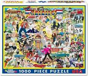 White Mountain Puzzles The Fifties - 1000 Piece Jigsaw Puzzle