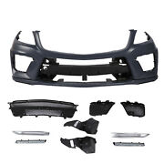 Pair Front Bumper For Mercedes Benz W166 Ml350 W/amg Styling Pkg W/drl Lamps