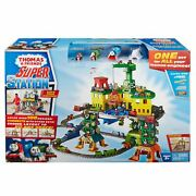 Thomas And Friends Engine Train Super Station Playset
