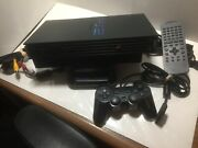 Sony Ps2 Console Bundle - Console, Remote, Controller, Memory Cards, 4-port Hub