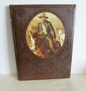 1970s Old West Time Life Series The Gunfighters Leatherette Hdcvr Book Free Sh