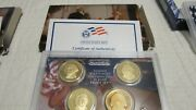 2007 2008 2009 Mint Presidential Dollar Coin Proof Sets W Coa And Boxes 12 Coin