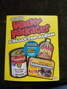 2006 Topps Wacky Packages Collector Album Full Of Cards +stella Dorko And 2 Foils