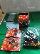 Lego- Minecraft- Micro World The Nether- 21106- 100 Complete Set- W/ Box