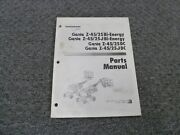 Genie Z-45/25 And Z-45/25j Bi-energy Articulated Boom Lift Parts Catalog Manual