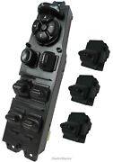 Master Power Window Switch With 3 Passenger Switches For 2002-2010 Dodge Ram New