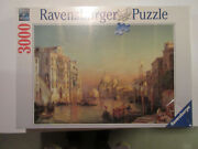Sealed 2009 Ravensburger Venice The Grand Canal 3000 Piece Jigsaw Puzzle