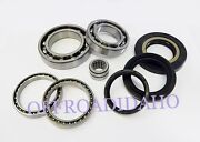 Rear Differential Bearing And Seal Kit For Solid Axle Rancher 420 4x4 4wd 2wd 2x4