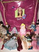 Vintage Mcdonalds Barbie Lot And Barbie Backpack And Clothes