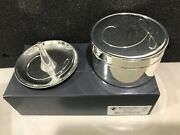 New Waterford Ballet Ribbon Ring Holder And Jewelry Box Set Fine Silver Gifts -nib